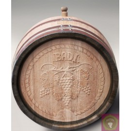 Oak barrique barrel for wine 220 l