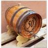 Decoration of wooden barrels_ front/back side