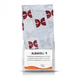 Albakoll B fining and stabilizing agent for white wines
