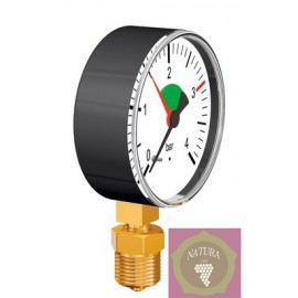 Manometer s olejom