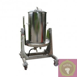 Water press 80 l inox