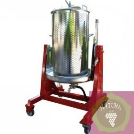 Water press 120 l semi inox
