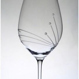 Kalich so Swarovski kryštálikmi 470 ml (6 ks)