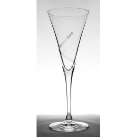 Kalich so Swarovski kryštálikmi 200 ml (6 ks)