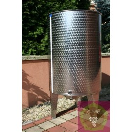 Inox barrel for wine (250-2150 l)