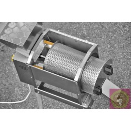 Inox electrical crusher rubbered