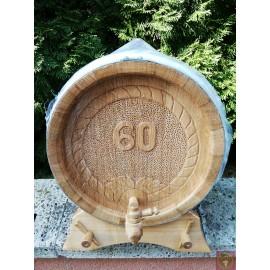 Tölgyfahordó fehér- és vörösborra 30 l