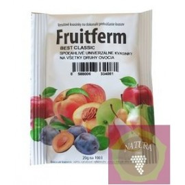 Fruitferm Best Classic fajélesztő cefrére 20 g